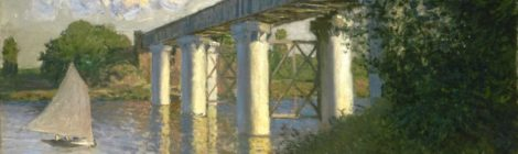 Railroad Bridge, Argenteuil - ArtsandEcon.com