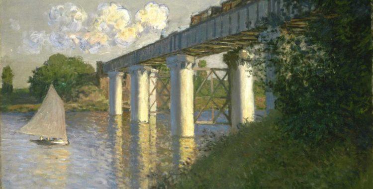 Railroad Bridge, Argenteuil - ArtsandEcon.com